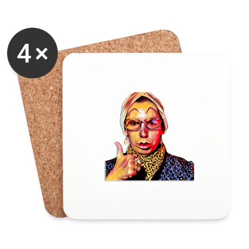 Madam2 - Coasters (set of 4)