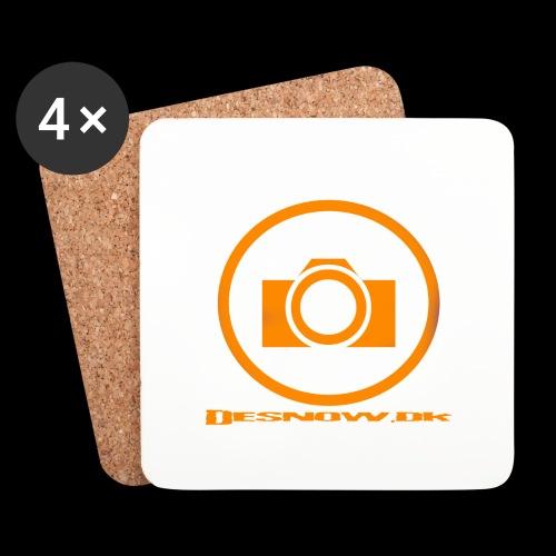 Orange 2 png - Glasbrikker (sæt med 4 stk.)