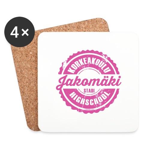 77P-JAKOMÄEN KORKEAKOULU - Stadi, Helsinki - Lasinalustat (4 kpl:n setti)