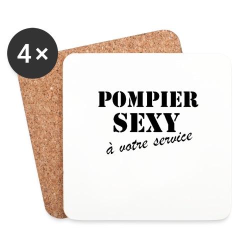 pompier sexy - Dessous de verre (lot de 4)