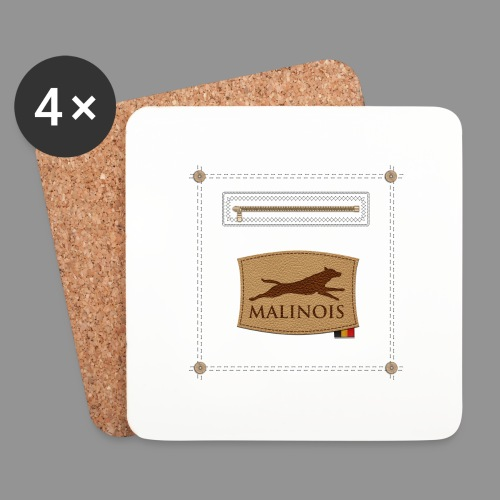 Belgian shepherd Malinois - Coasters (set of 4)