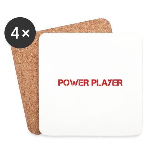 Linea power player - Sottobicchieri (set da 4 pezzi)