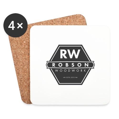 RW logo flat transparent original - Coasters (set of 4)