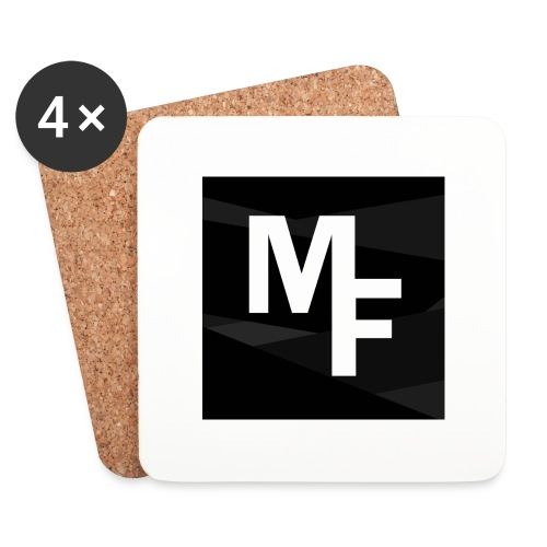 Modern Flex YouTube Logo - Coasters (set of 4)