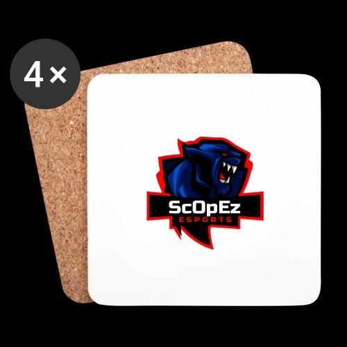 ScOpeZ Koeffizient - Untersetzer (4er-Set)