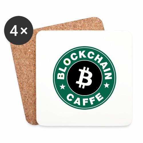 BlockChain Caffè Logo - Sottobicchieri (set da 4 pezzi)