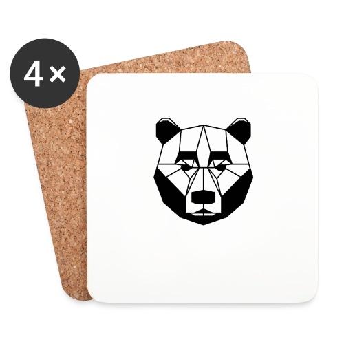 ours - Dessous de verre (lot de 4)