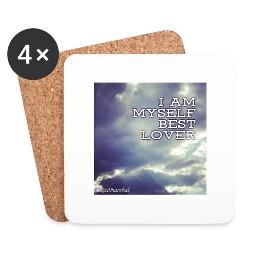 I Am Myself best Lover - Lasinalustat (4 kpl:n setti)