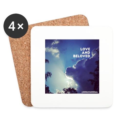 Love and beloved - Lasinalustat (4 kpl:n setti)