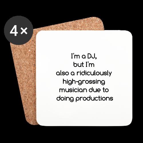 IM A DJ! - Onderzetters (4 stuks)