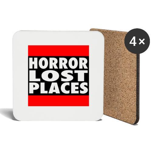Horror Lost Places - Untersetzer (4er-Set)