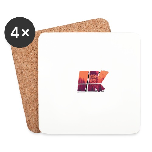 Ishaan Kulkarni Logo (1) - Coasters (set of 4)