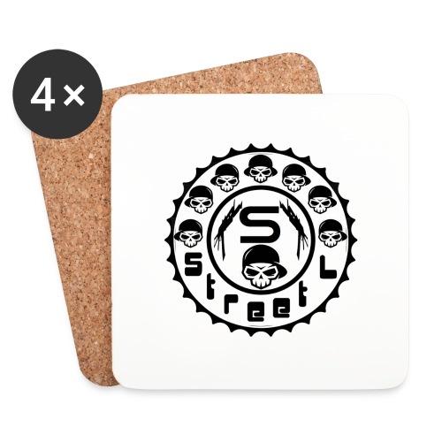 rawstyles rap hip hop logo money design by mrv - Podstawki (4 sztuki w zestawie)