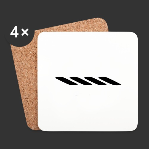 Rope With Bite Logo - Coasters (set of 4)