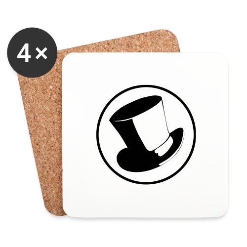 GLASS HAT - Posavasos (juego de 4)