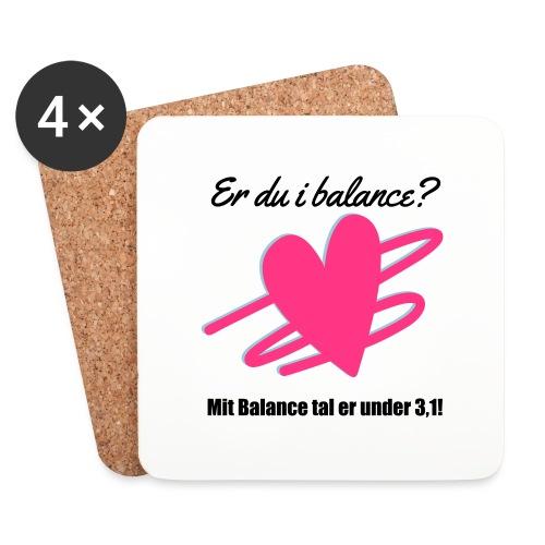 I Balance Design - Glasbrikker (sæt med 4 stk.)