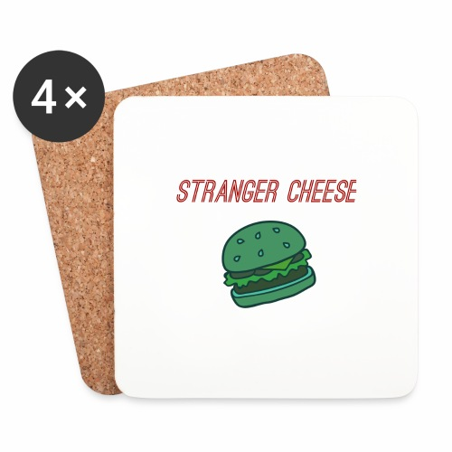 Stranger Cheese - Dessous de verre (lot de 4)
