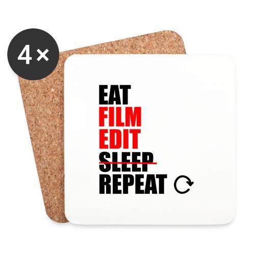 Life of a filmmaker - Untersetzer (4er-Set)