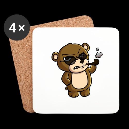 AngryTeddy - Coasters (set of 4)
