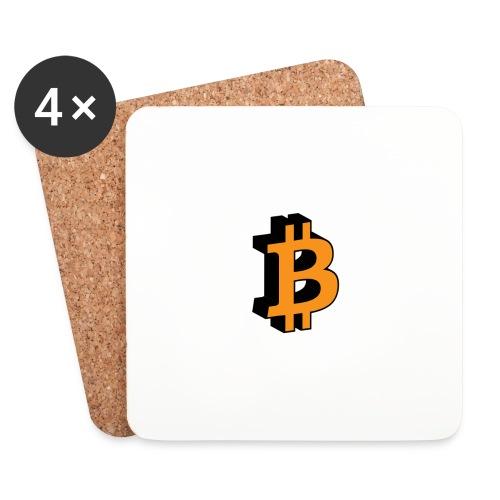 Bitcoin - Untersetzer (4er-Set)