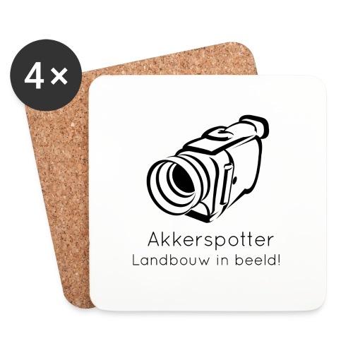 Logo akkerspotter - Onderzetters (4 stuks)