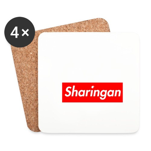 Sharingan tomoe - Dessous de verre (lot de 4)