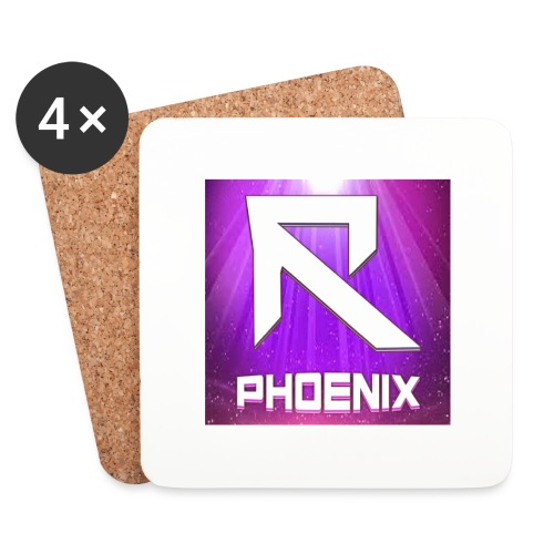 RTrixx Phoenix Logo - Coasters (set of 4)