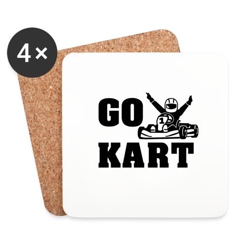 Go kart - Dessous de verre (lot de 4)