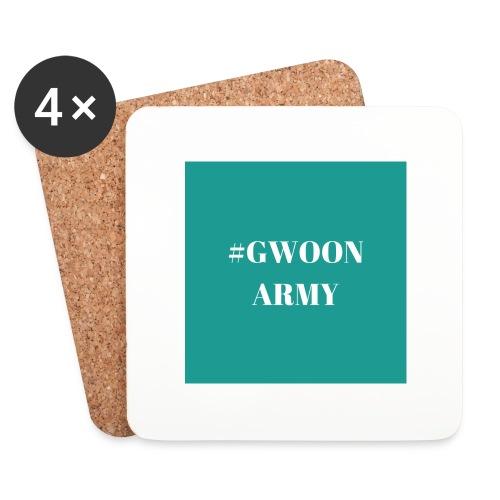 #gwoonarmy - Onderzetters (4 stuks)