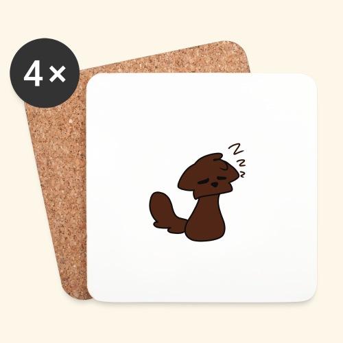 Coffee animal - Lasinalustat (4 kpl:n setti)