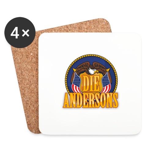 Die Andersons - Merchandise - Untersetzer (4er-Set)