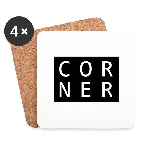 cornerbox - Glasbrikker (sæt med 4 stk.)