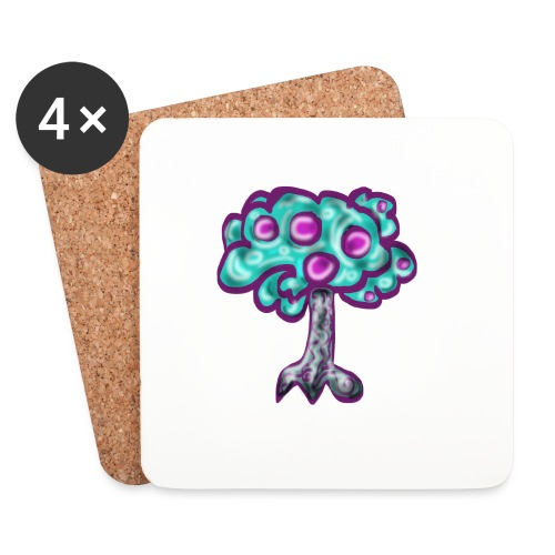 Neon Tree - Coasters (set of 4)