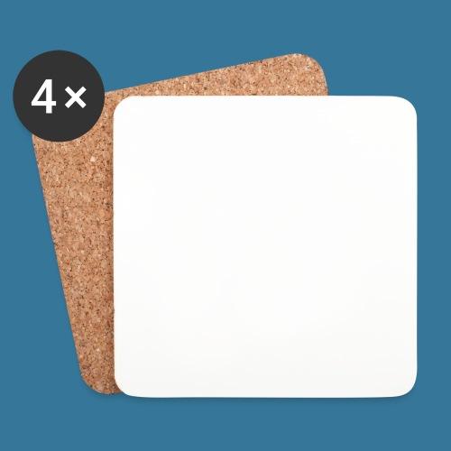 BlueSparks - White - Coasters (set of 4)