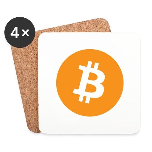 Bitcoin - Coasters (set of 4)