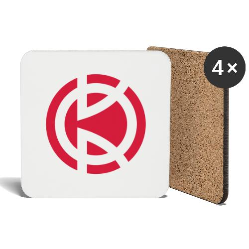 Kitbliss logo - Coasters (set of 4)
