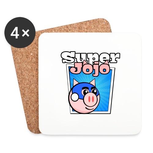 Super Jojo Game Icon - Coasters (set of 4)