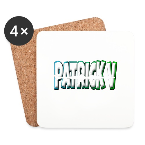 Patrick V Name - Coasters (set of 4)