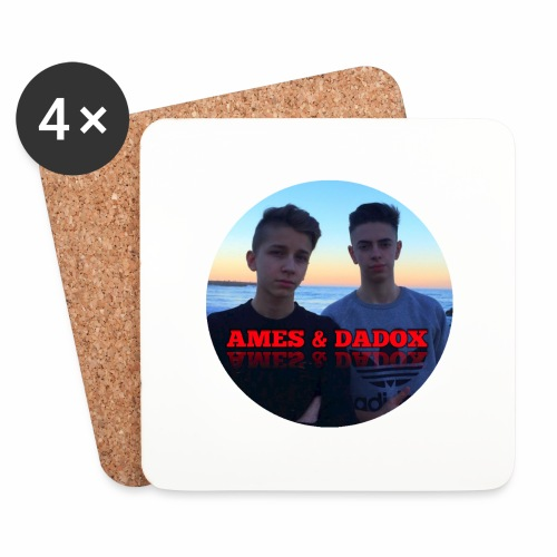 AMES & DADOX - Sottobicchieri (set da 4 pezzi)