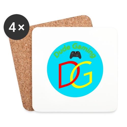 Dude Gaming - Glasbrikker (sæt med 4 stk.)
