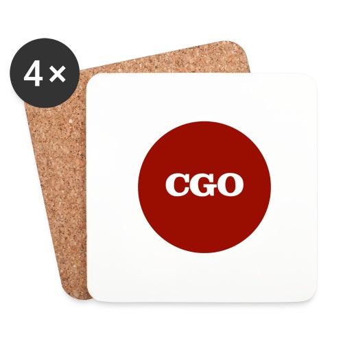watermerk cgo - Onderzetters (4 stuks)