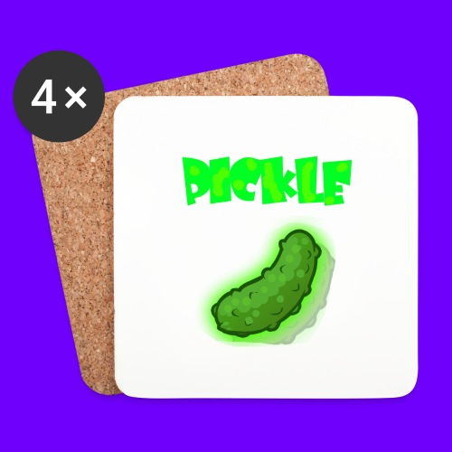 PICKLE - Coasters (set of 4)