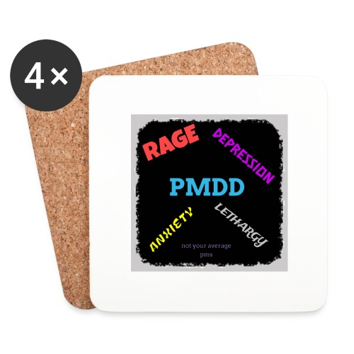 Pmdd symptoms - Coasters (set of 4)