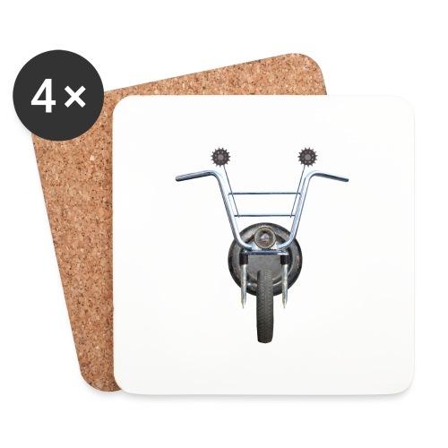 steampunkbike - Onderzetters (4 stuks)