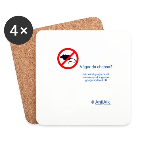 AntiAik - Underlägg (4-pack)