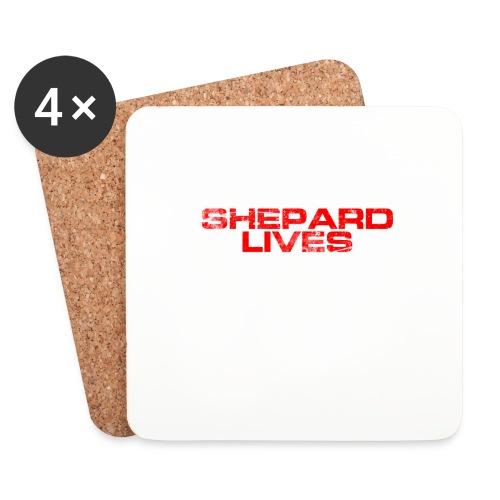 Shepard lives - Coasters (set of 4)