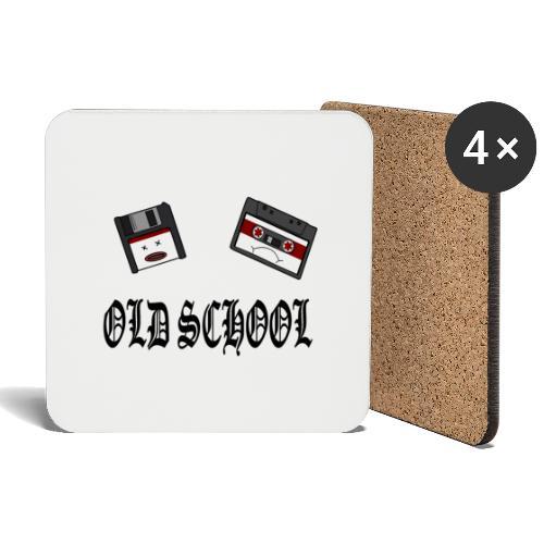 Old School Design - Untersetzer (4er-Set)