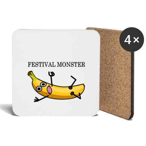 Festival Banane - Untersetzer (4er-Set)