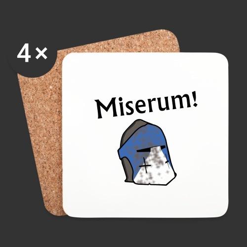 Warden Cytat Miserum! - Podstawki (4 sztuki w zestawie)