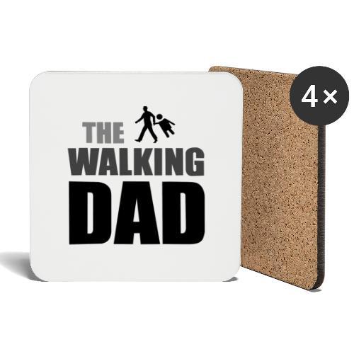 the walking dad auf dem Weg in die lustige Bar - Untersetzer (4er-Set)